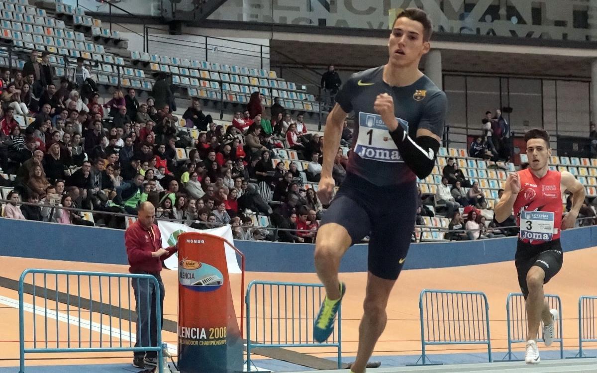 Lucas Búa, primera medalla azulgrana de los Juegos del Mediterráneo