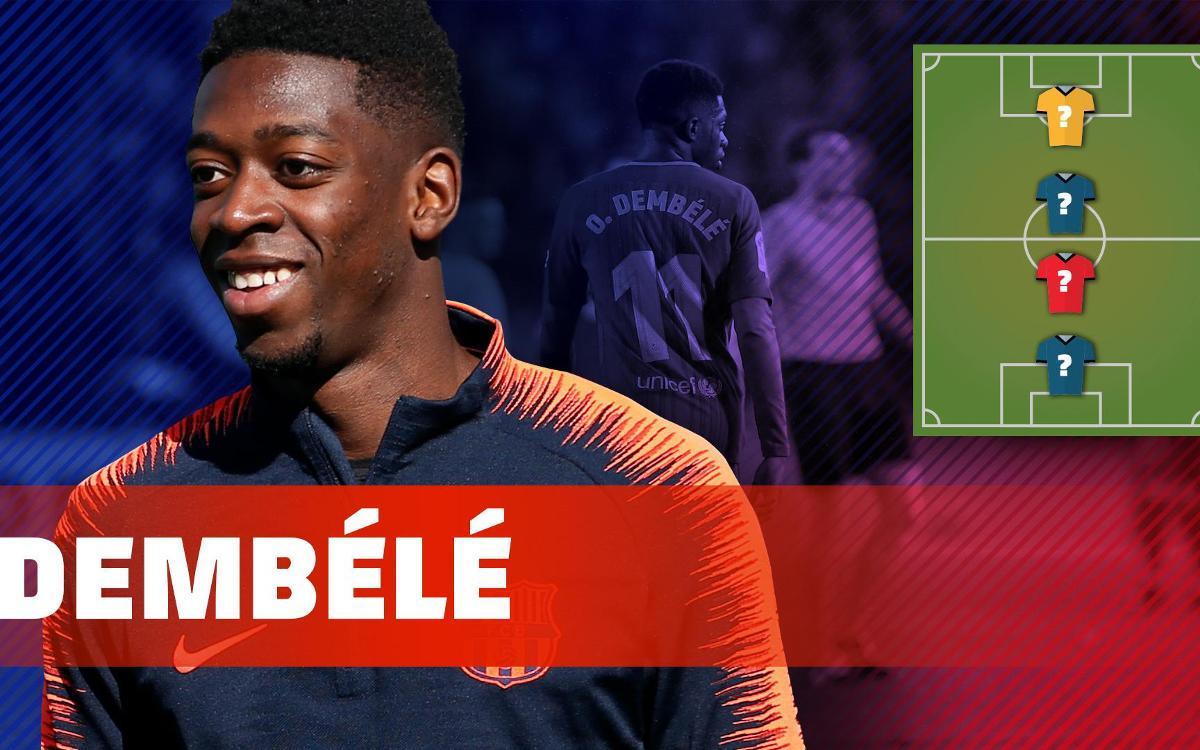 O.Dembélé ens descobreix els seus herois futbolístics