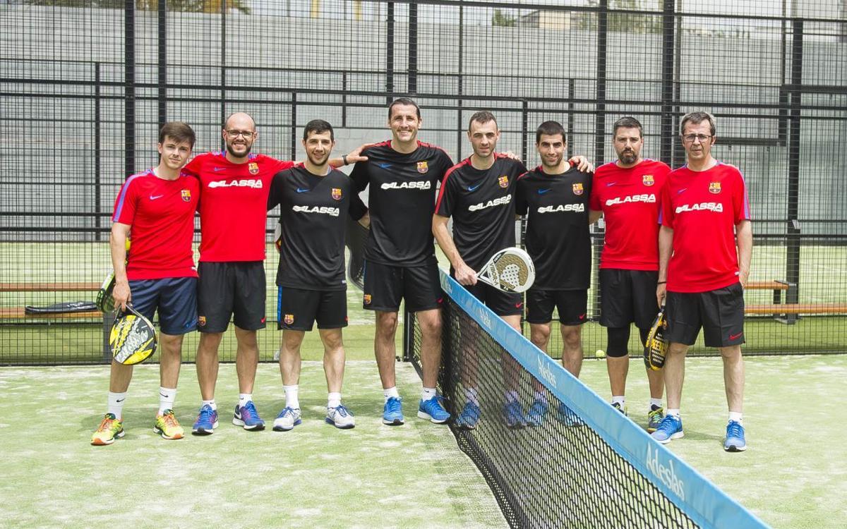 El Barça Lassa despide la temporada jugando a pádel