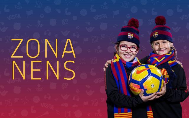Bienvenido a la Zona Nens del FC Barcelona! 7b08891829e