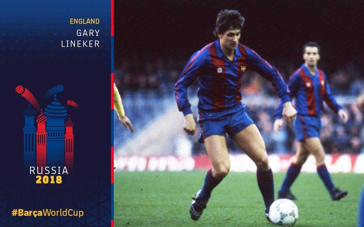 Barça at the World Cup, Part 7: Lineker leads the way