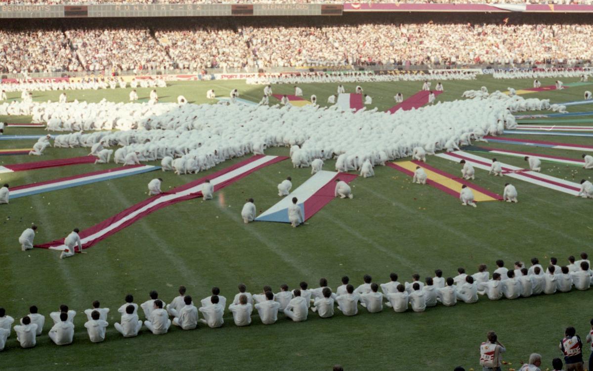 36 anys de la inauguració del Mundial 82 al Camp Nou