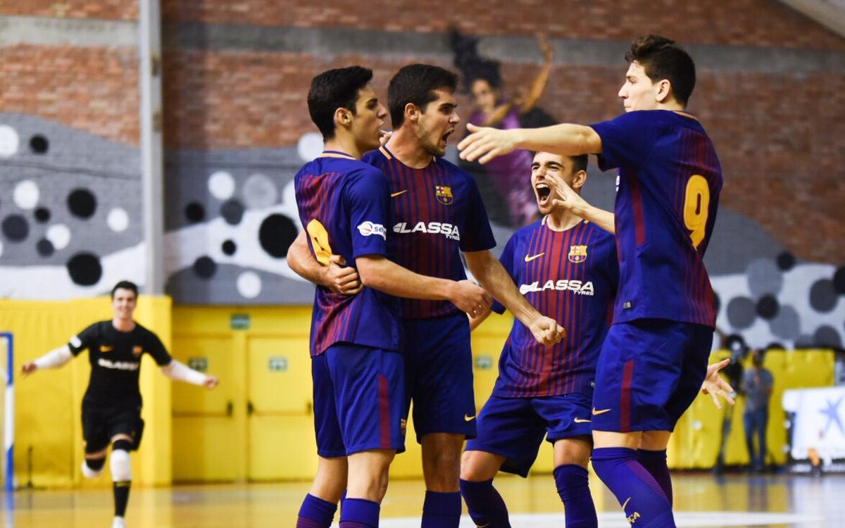Catgas Energia – Barça Lassa juvenil (2-4): Campió de la Copa Catalunya de futbol sala