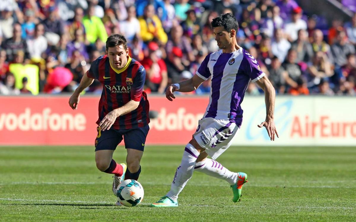 El Valladolid, nou rival culer a la Lliga
