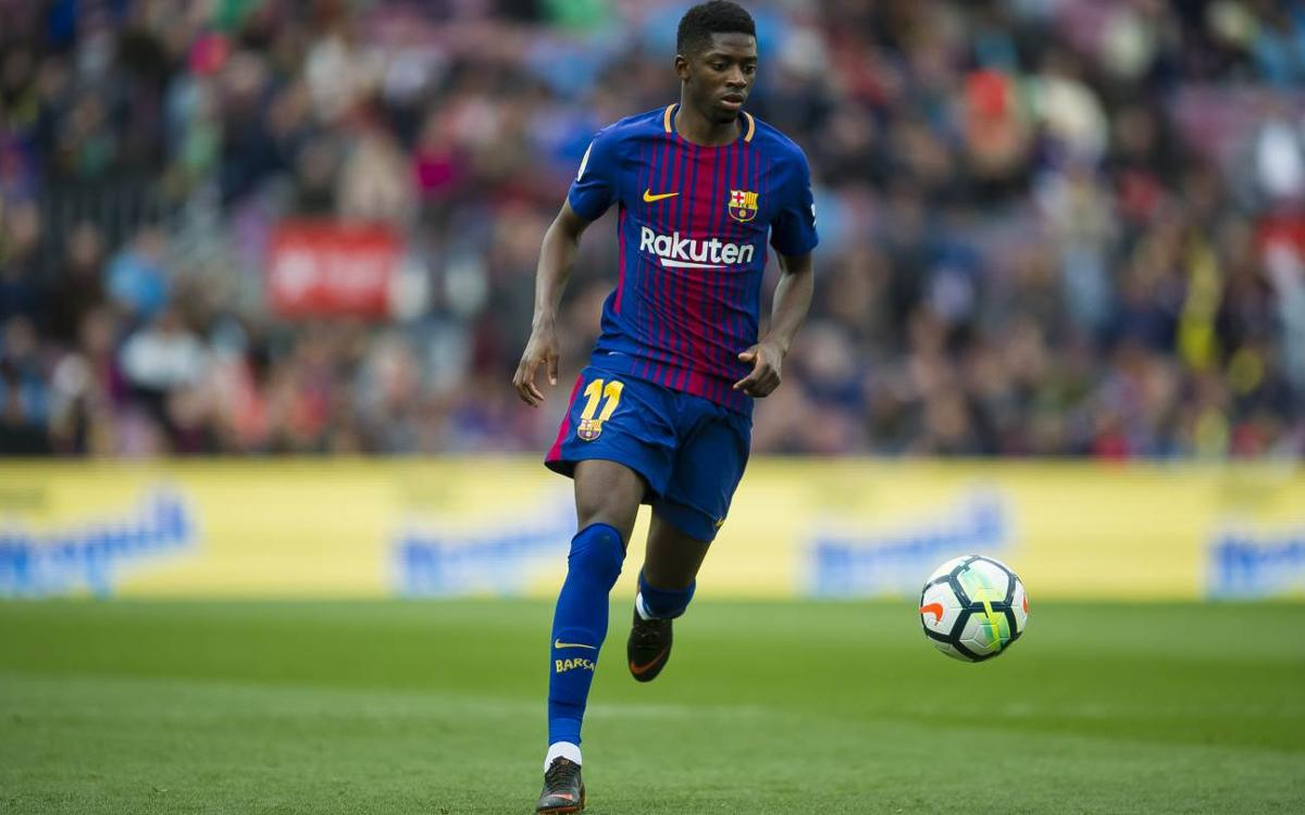 Dembélé: 'I've learned a lot tactically and defensively'