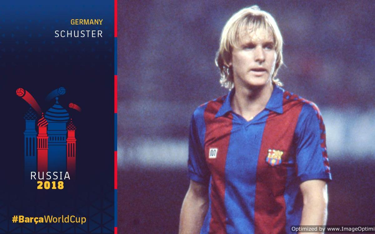 Barça at the World Cup, Part 10: Schuster's problems with Germany