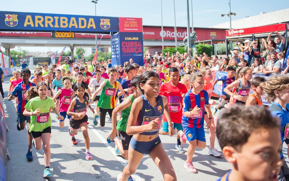 Los culés, los grandes ganadores de la Cursa Barça CaixaBank 2018