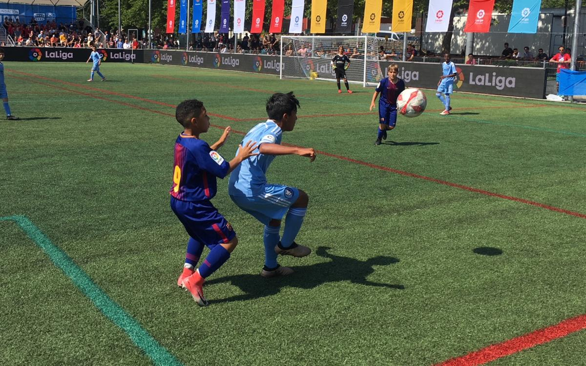 U12A team knocked out of LaLiga Promises Internacional
