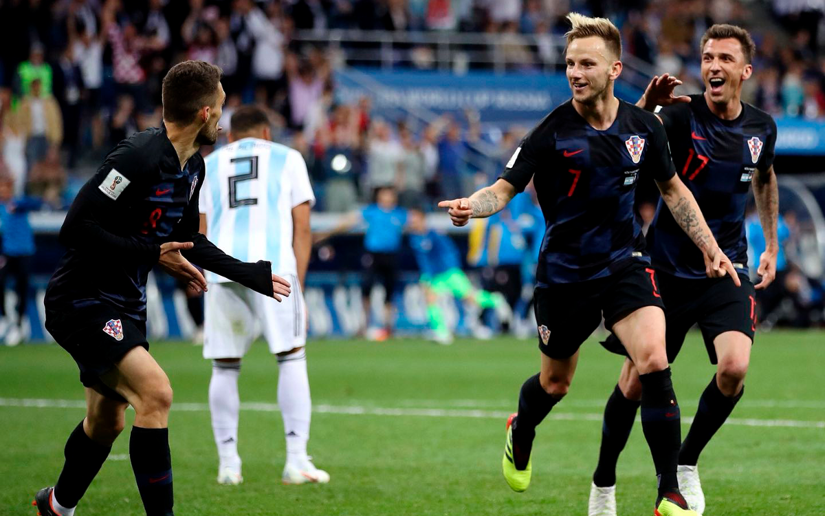 Rakitic and Croatia are into the Round of 16
