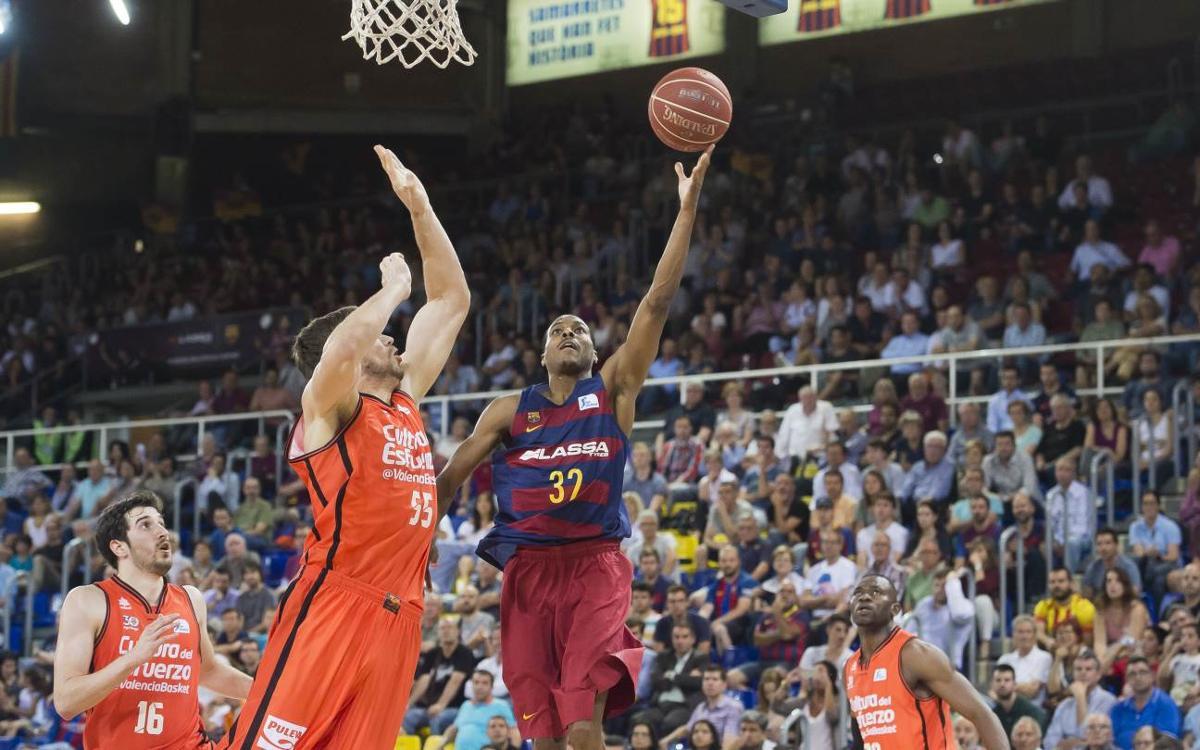 FC Barcelona Lassa – València Basket: Igualen la sèrie amb una bona actuació (91-79)