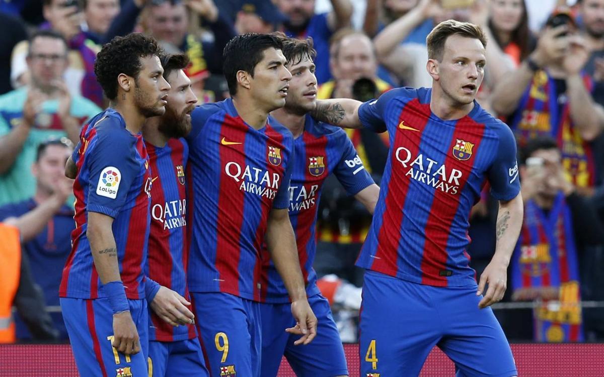 Los datos del Barça en la Liga