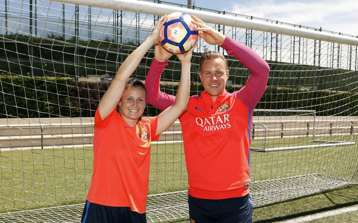 Ter Stegen rallies support for women's league title showdown on Saturday