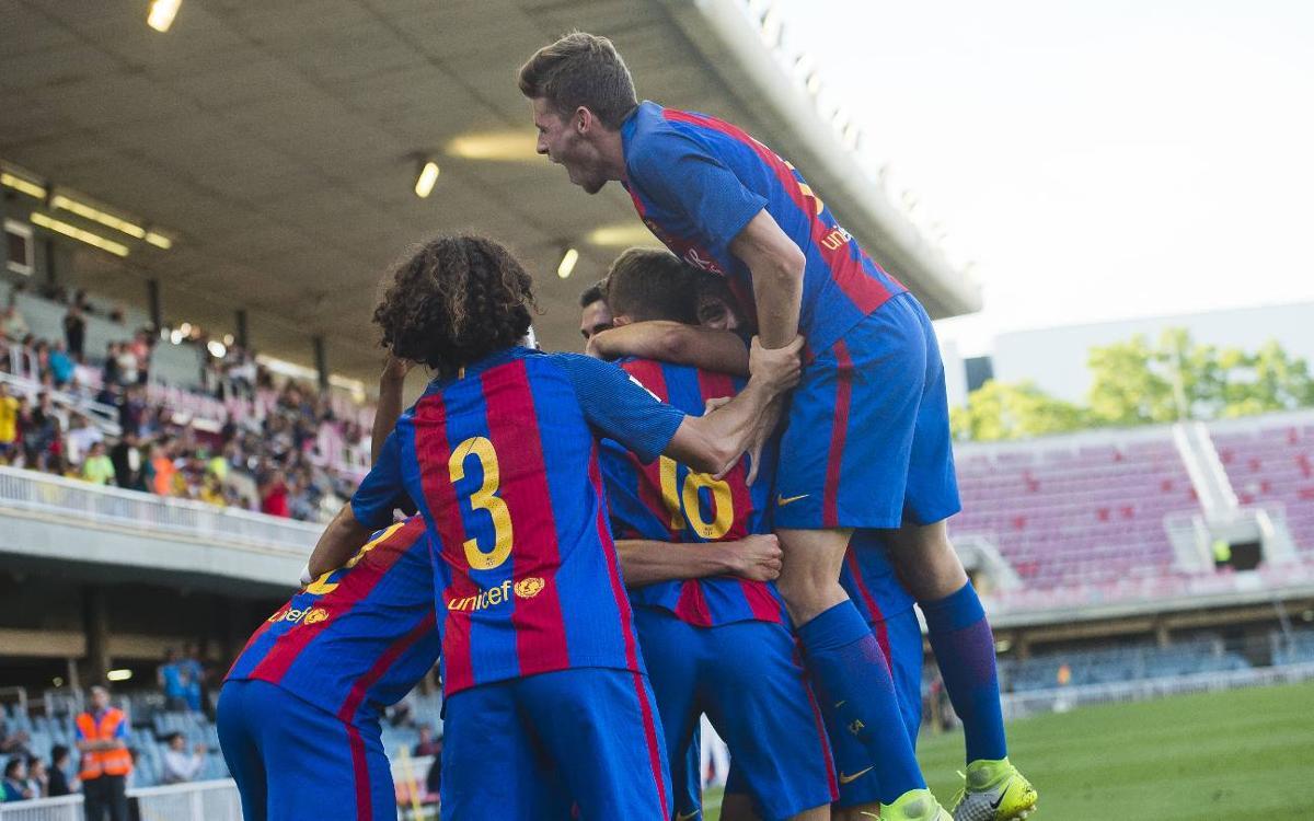 Barça B – CD Ebro: Triunfo con récord histórico incluido (3-0)
