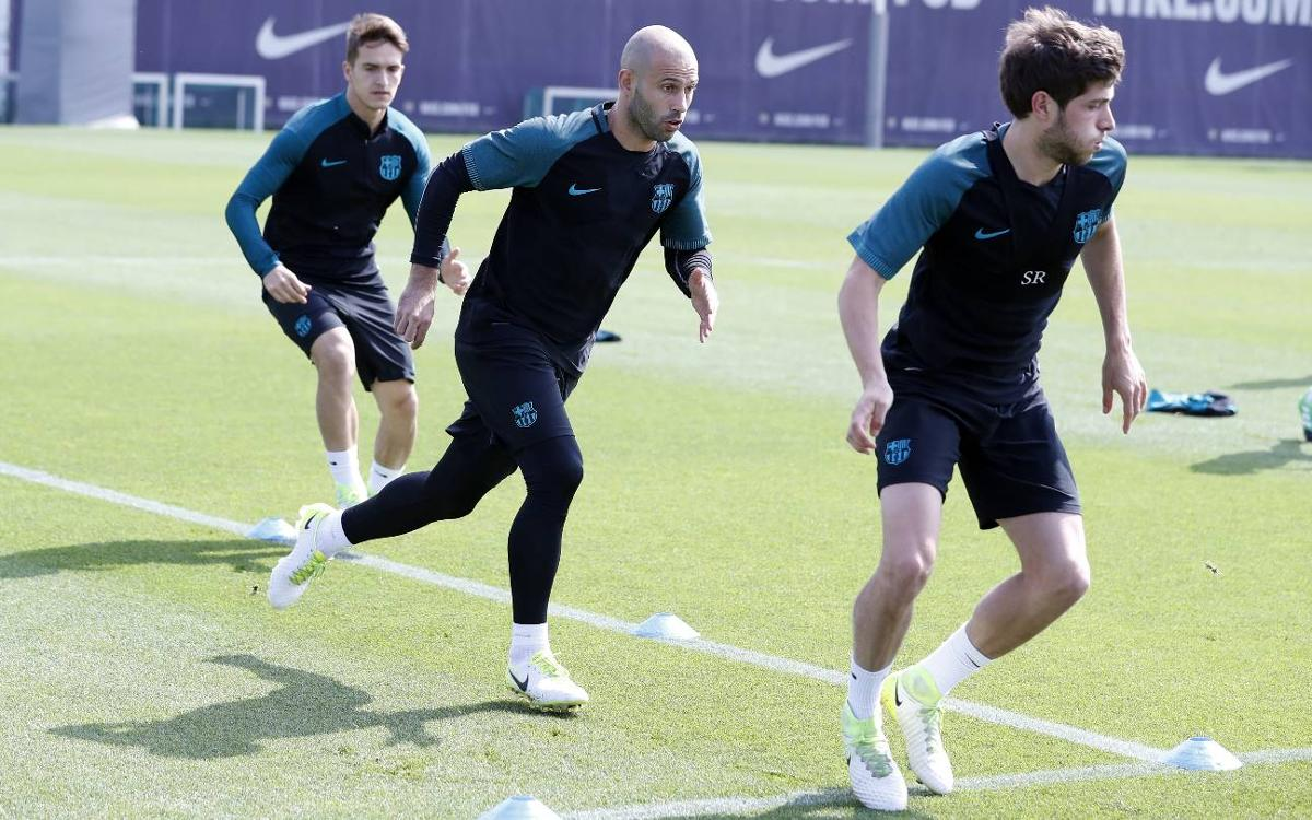 Mascherano back in squad against Juventus