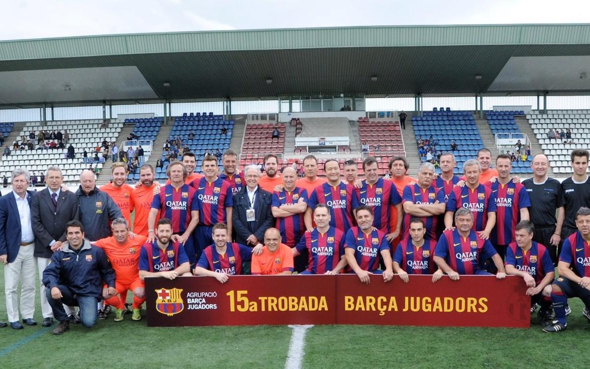 La 15a Trobada de Jugadors culmina la Setmana Barça Jugadors a Figueres