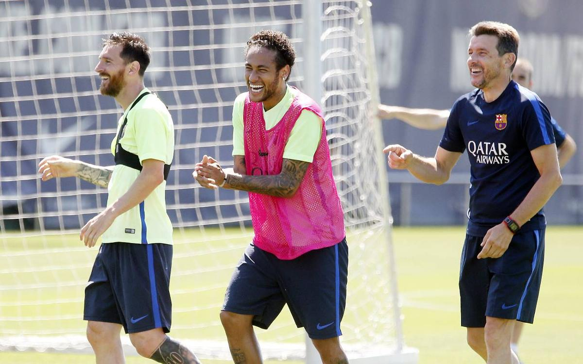Preparations continue for the Copa del Rey final