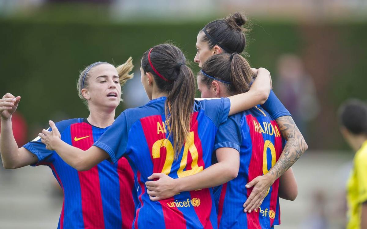 FC Barcelona 13-0 Oiartzun: Hermoso scores six in gargantuan victory