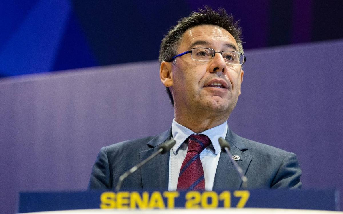 Bartomeu: 'We have one more challenge pending—the Copa del Rey'
