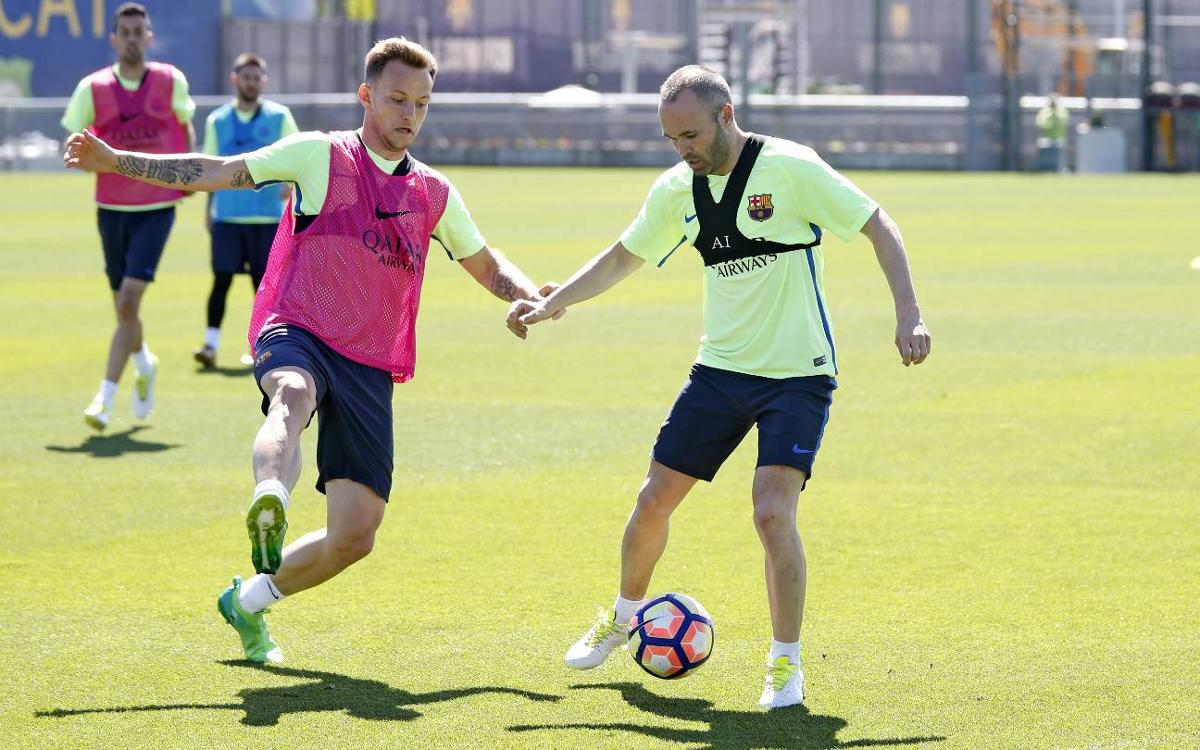 Training plan for the final week of La Liga action