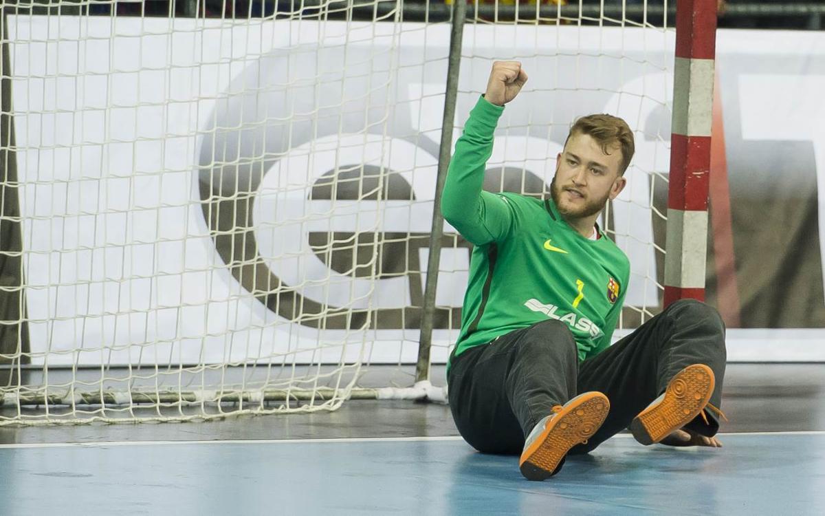 Gonzalo Pérez de Vargas, nomenat millor jugador de l'EHF del mes d'abril