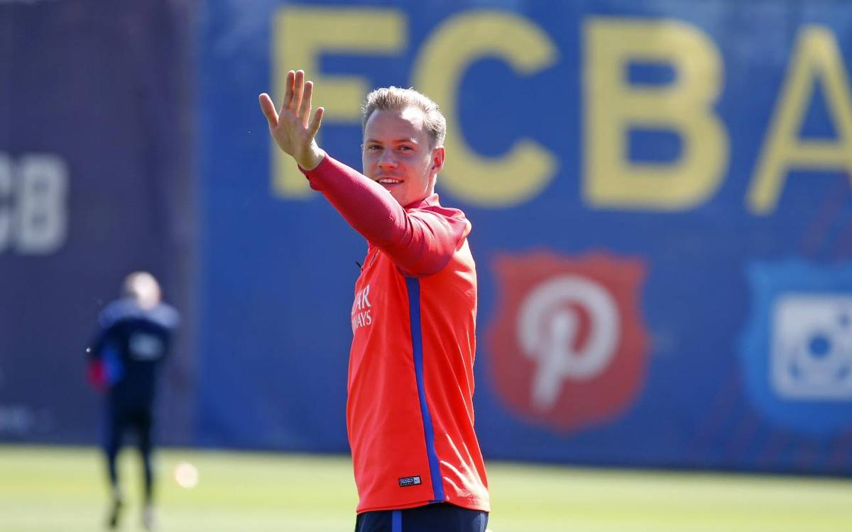 Ter Stegen: I want to stay for a long time