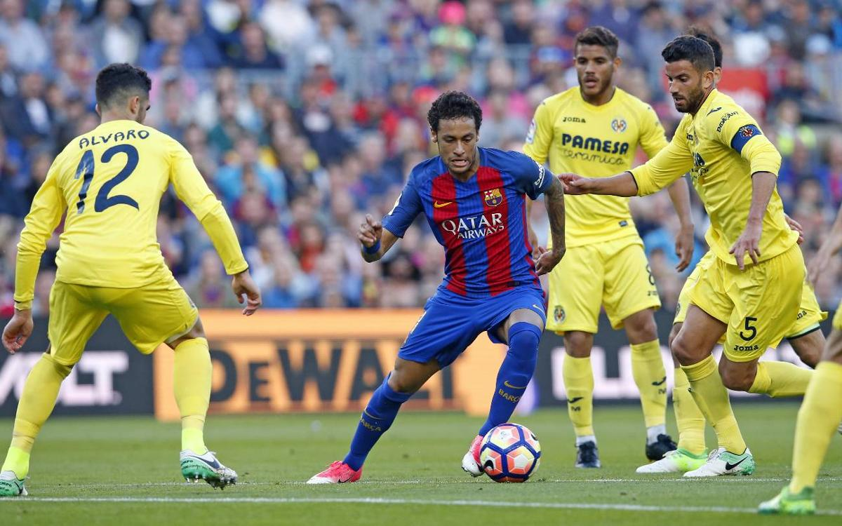 VIDEO: Neymar Jr's dazzling display against Villarreal
