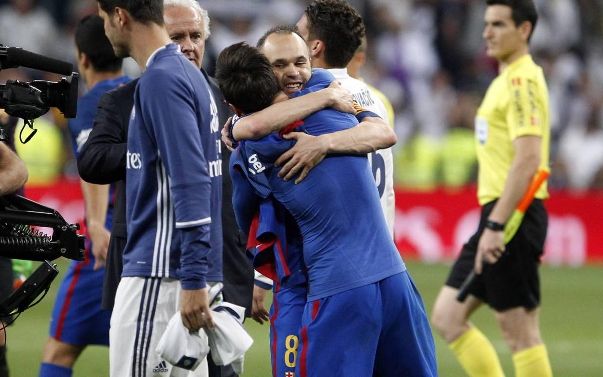 Andrés Iniesta: Honour playing with Messi