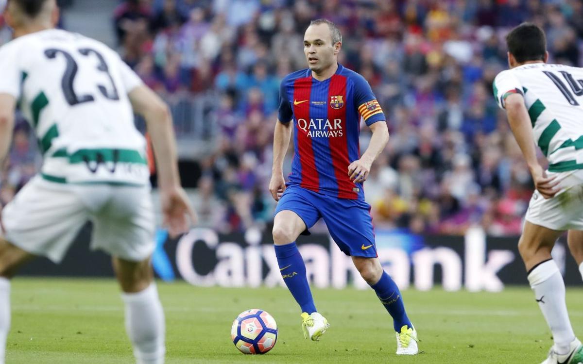 Andrés Iniesta postgame quotes: FC Barcelona 4–2 Eibar