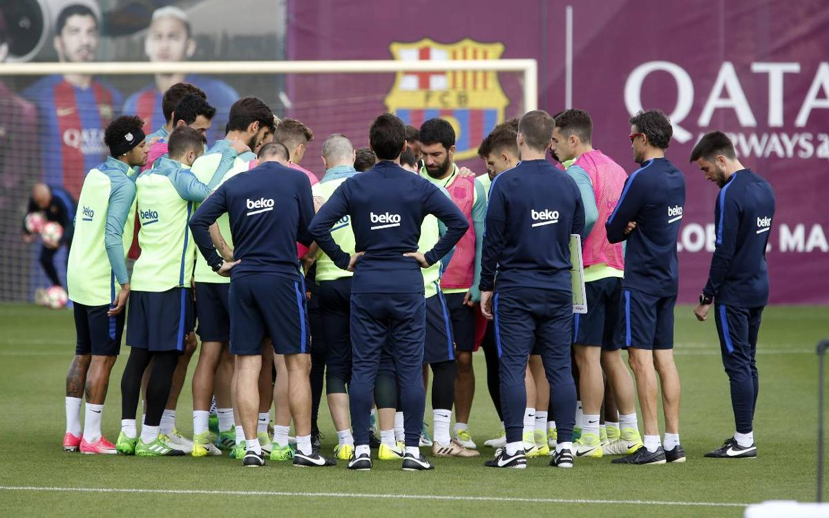 Training schedule as La Liga enters its final stages