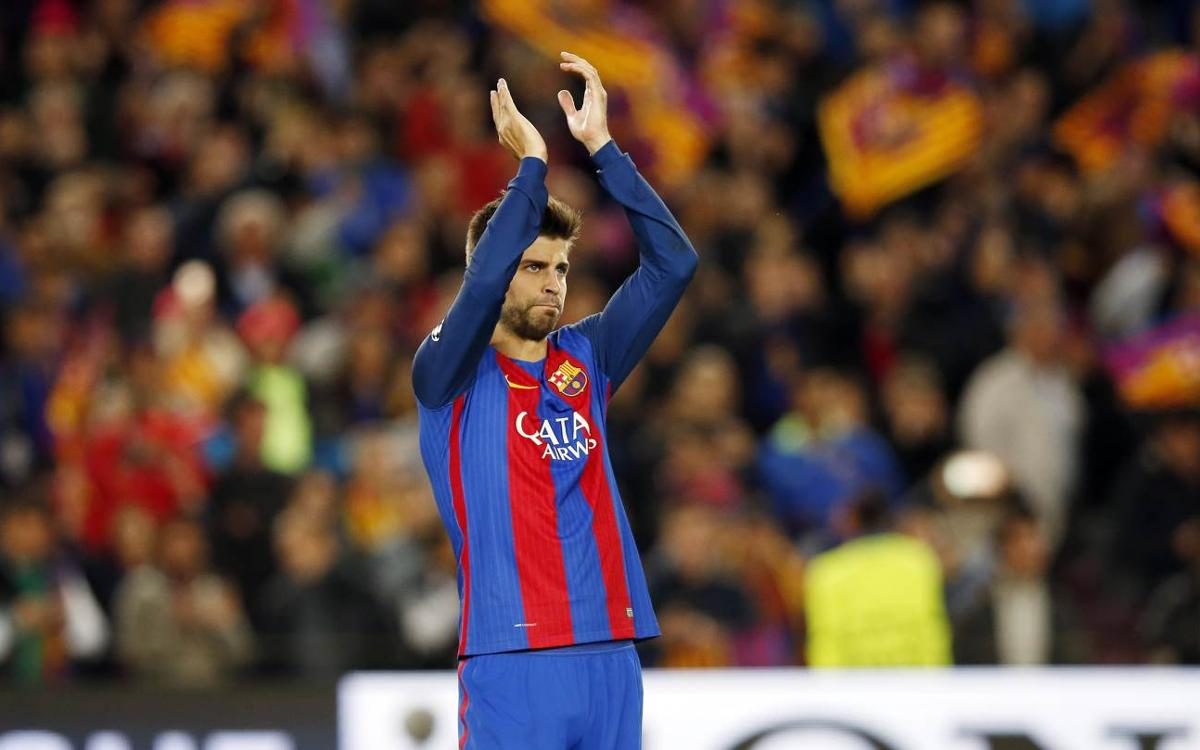 Gerard Piqué acknowledges 'tough defeat' against 'great side' Juventus