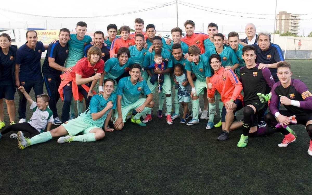 El Cadete A y el Benjamín A se proclaman campeones de Liga