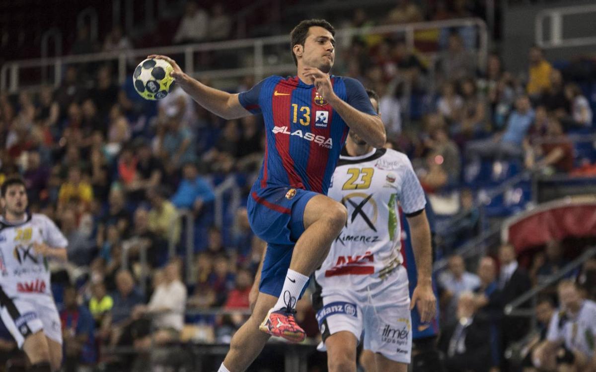 FC Barcelona Lassa – Ángel Ximénez-Avia Puente Genil: Siguen sumando (37-29)