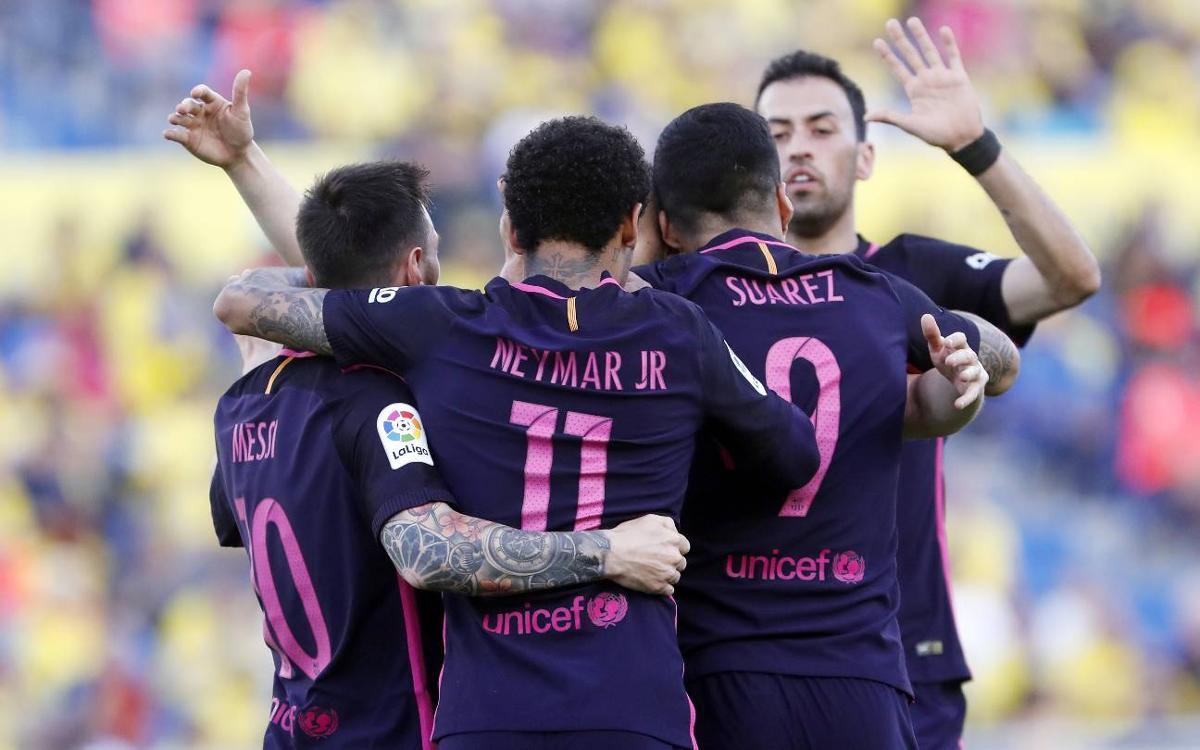 FCバルセロナ、今季最高の連勝タイ記録