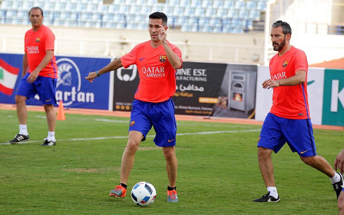 Los Barça Legends creen en la Liga