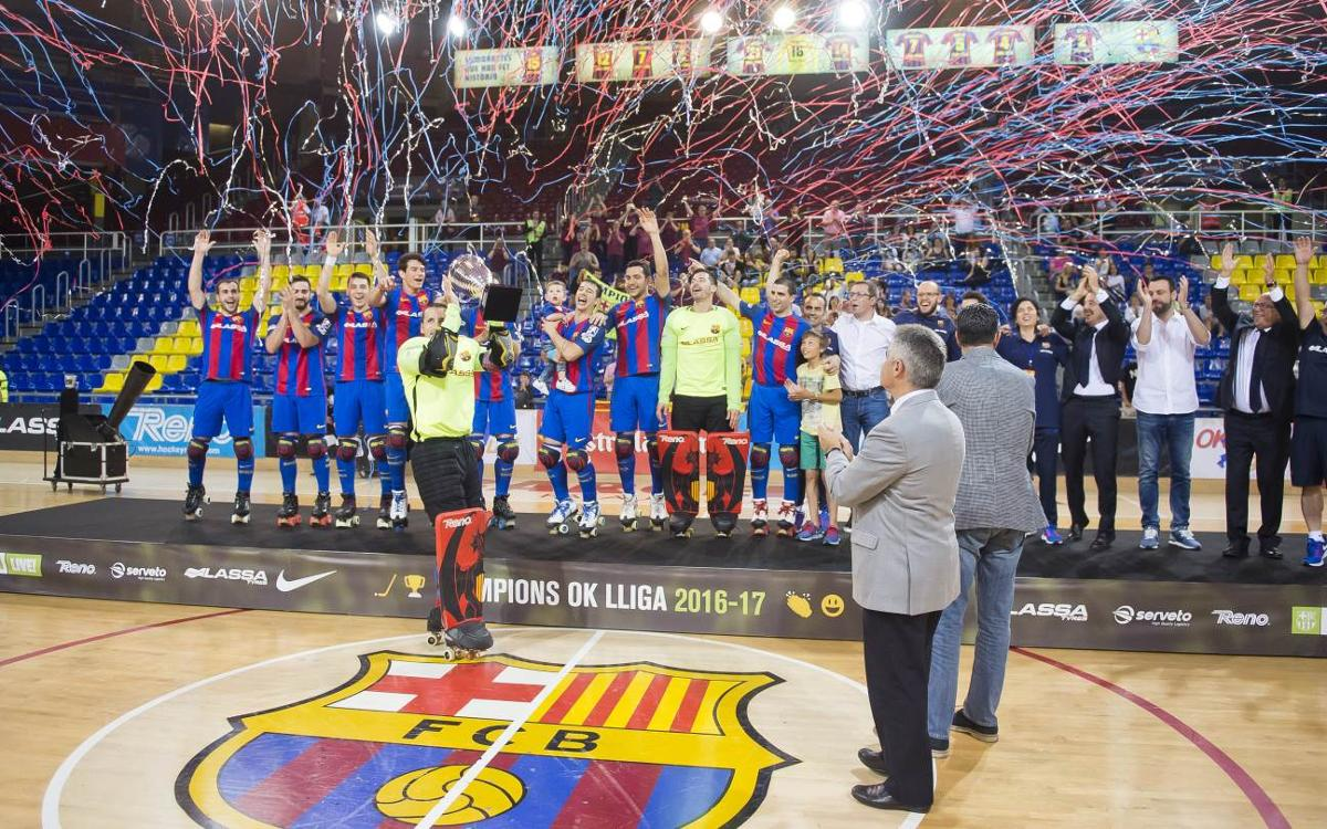 FC Barcelona Lassa v Citylift Girona CH: Home win to celebrate the league title (4-1)
