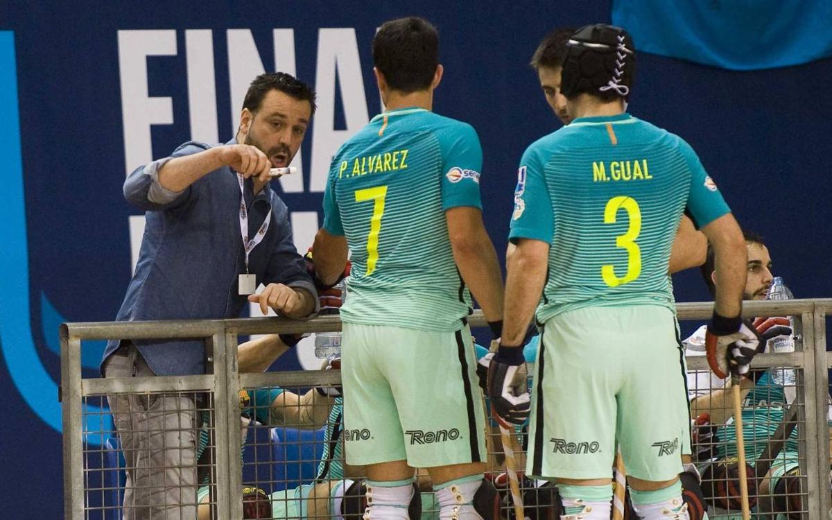 """Ricard Muñoz: """"Felicito els jugadors per com han competit"""""""