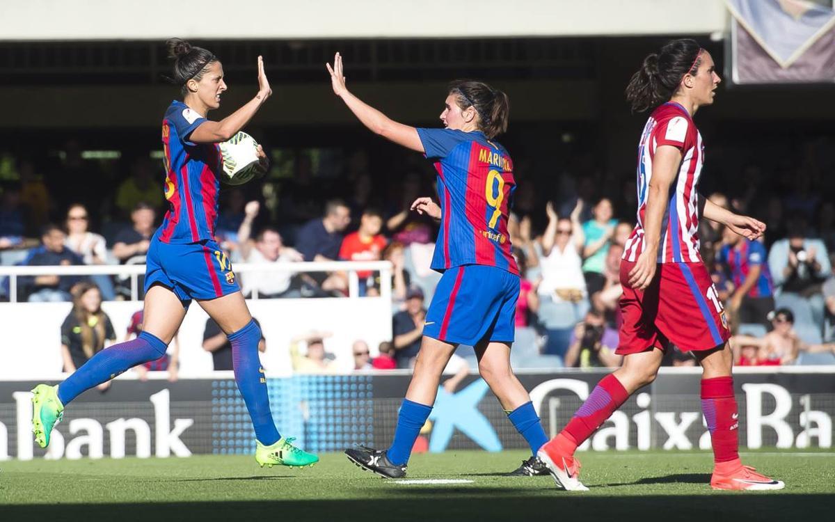 FC Barcelona Femení – Atlètic de Madrid: Caldrà esperar (1-1)