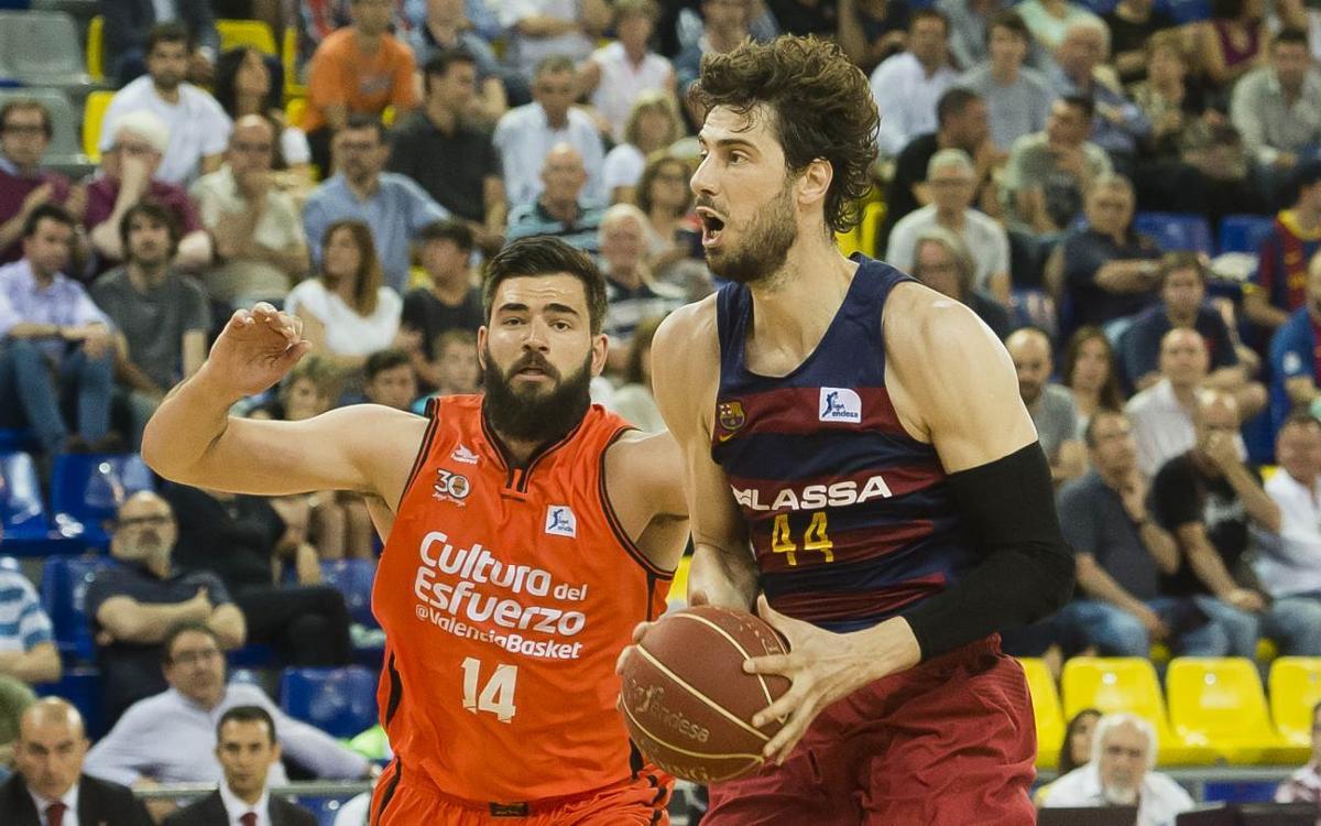 Valencia Basket -FC Barcelona Lassa: Las semifinales pasan por la Fonteta