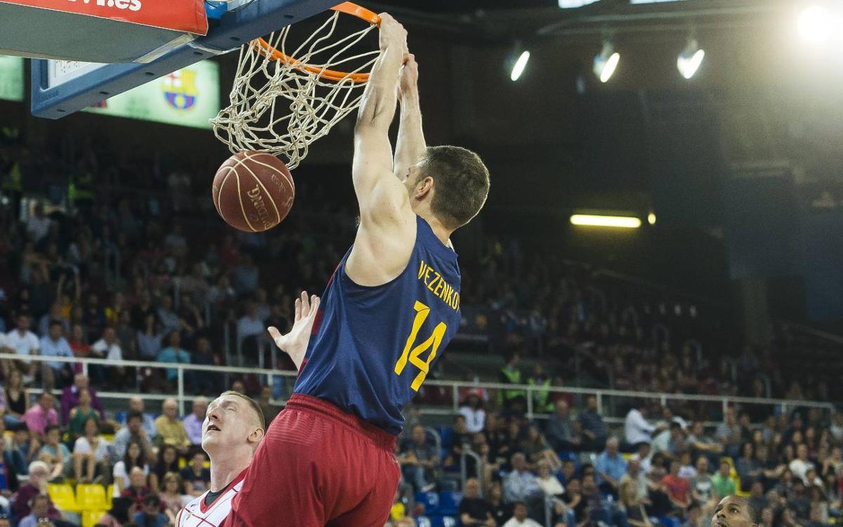 FC Barcelona Lassa - Fuenlabrada: Victòria amb contundència (87-53)