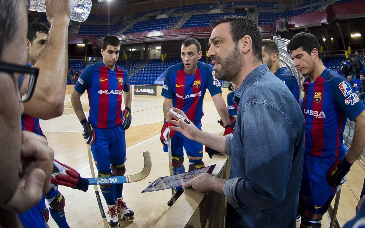 Ricard Muñoz llegará a los 200 partidos con el Barça Lassa en Reus