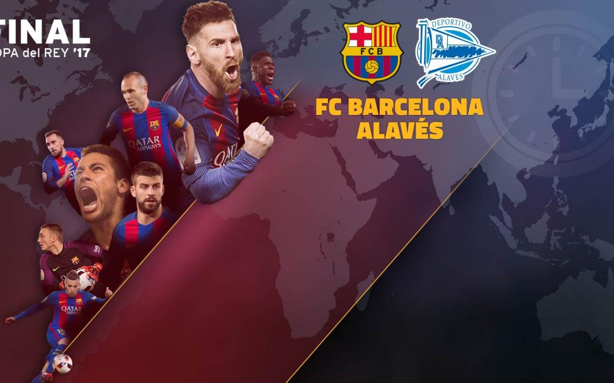 When and where to watch FC Barcelona v Alavés