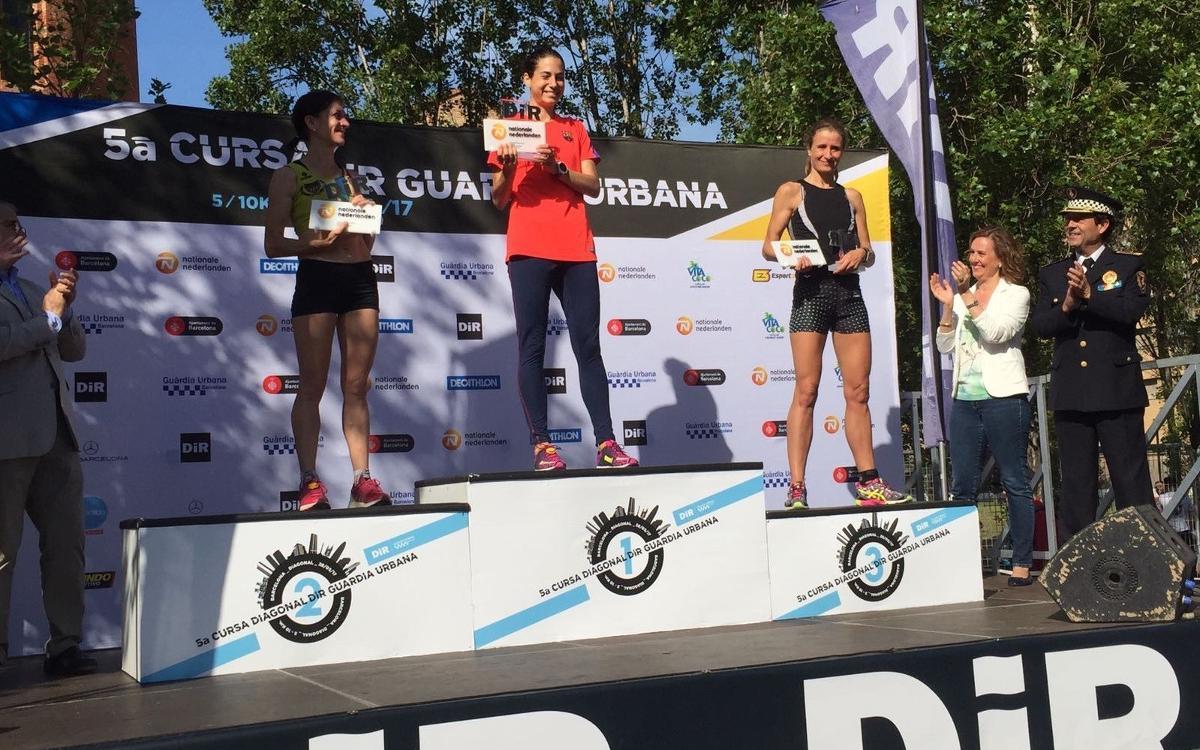 Marta Galimany guanya la 5a Cursa DIR Diagonal/Guàrdia Urbana