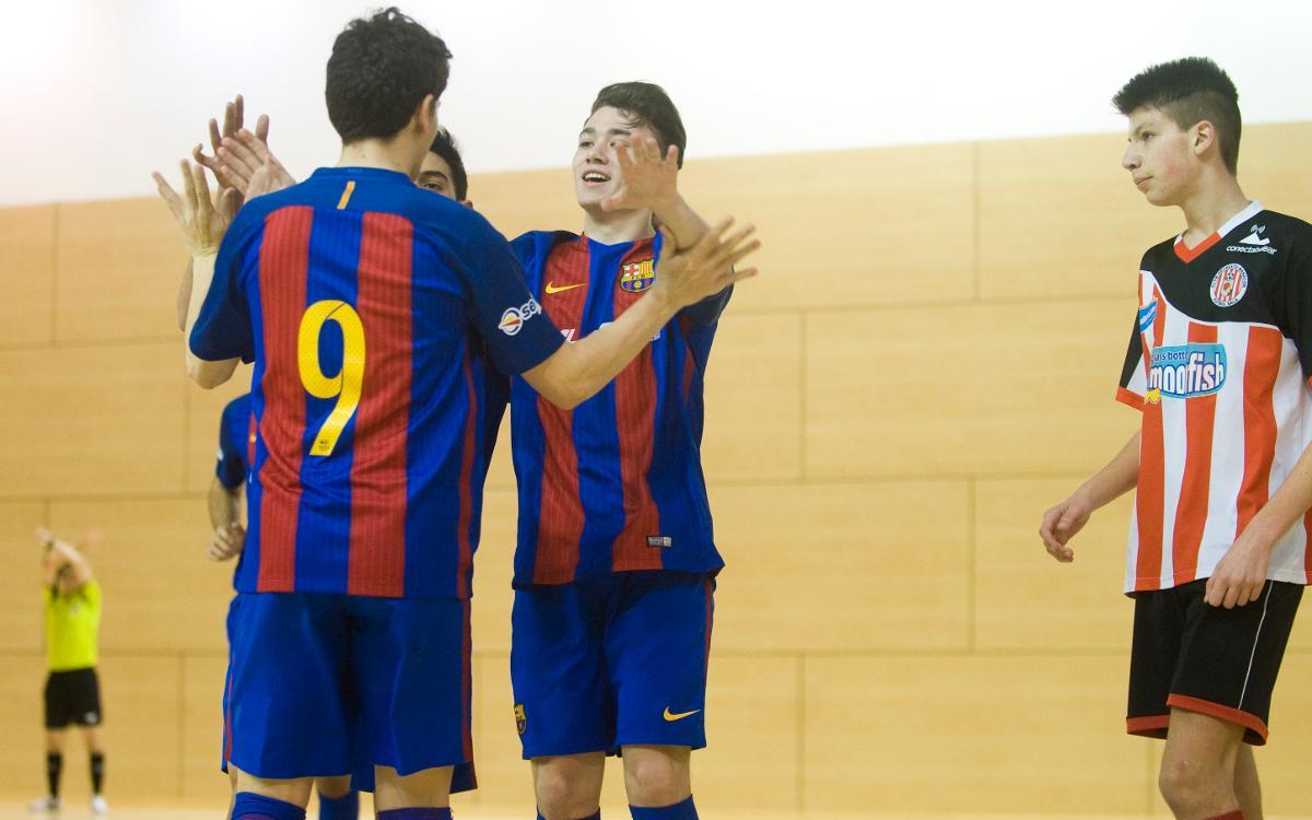 El Juvenil, el Cadet i l'Aleví, a la final de la Copa Catalunya