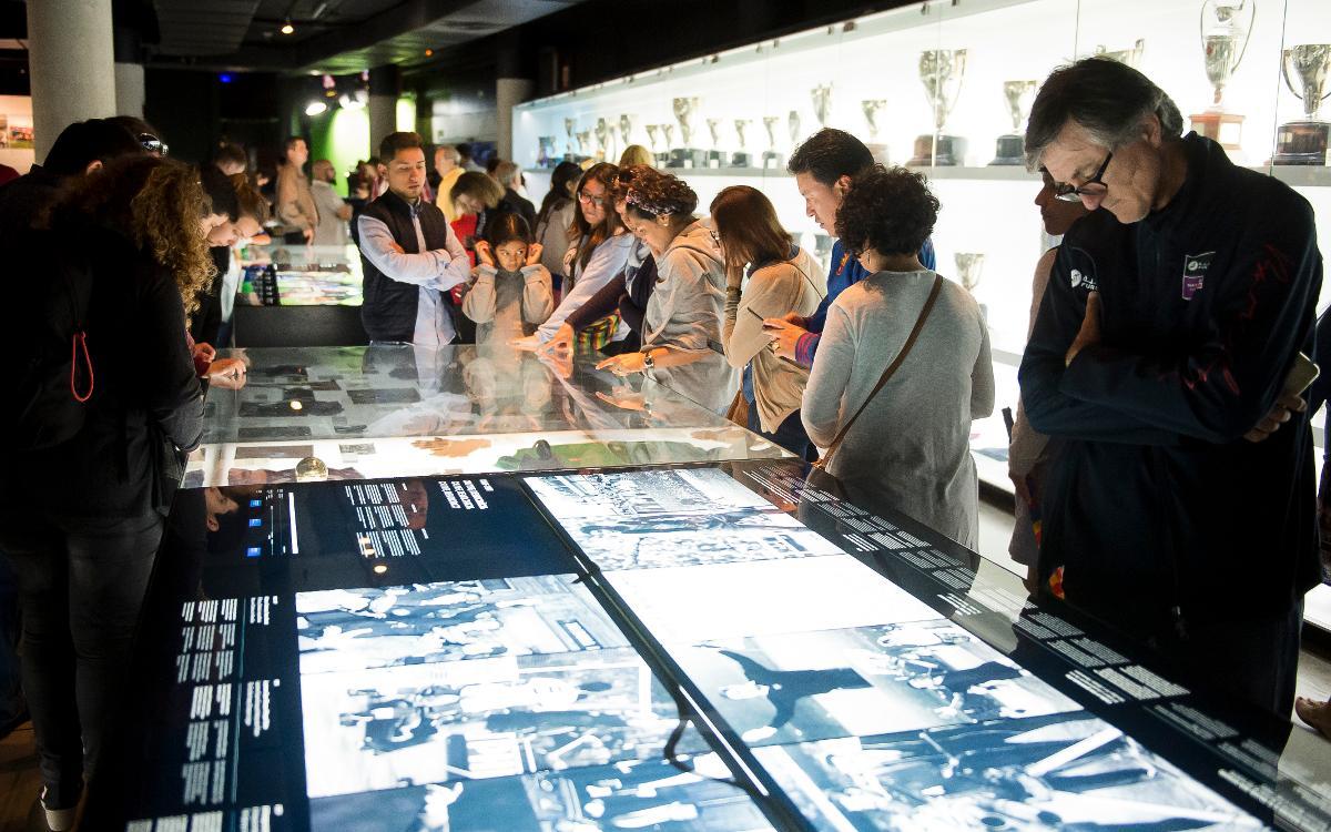 El Museo del Barça recibe 3.466 visitantes durante la 'Nit dels Museus'