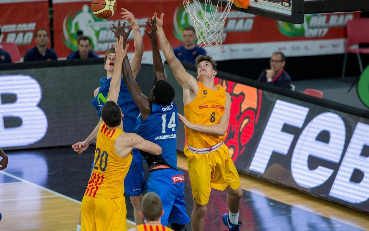 El júnior es classifica per a les semifinals del Campionat d'Espanya