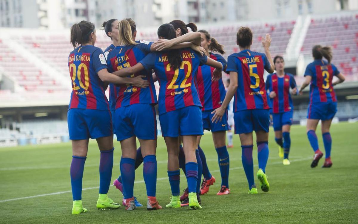 Barça Femení – RCD Espanyol: Golejada i exhibició en el derbi (5-0)