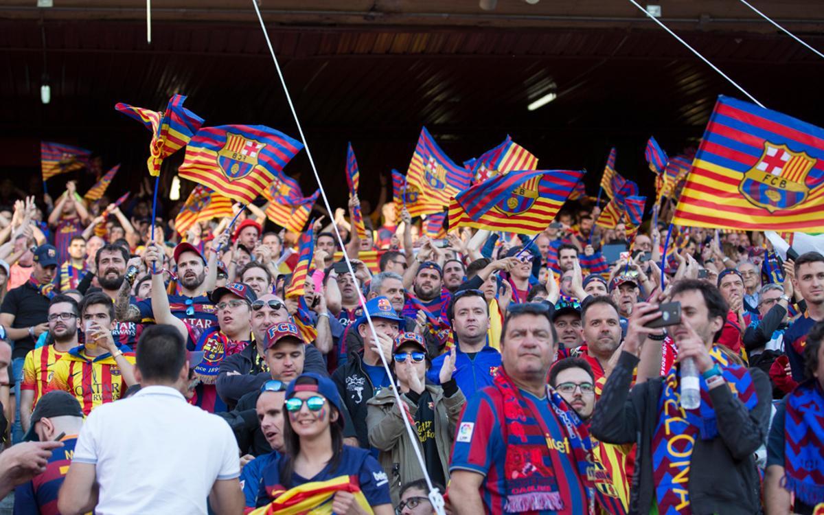 Període de cessió a un altre soci de les entrades per a la final de Copa