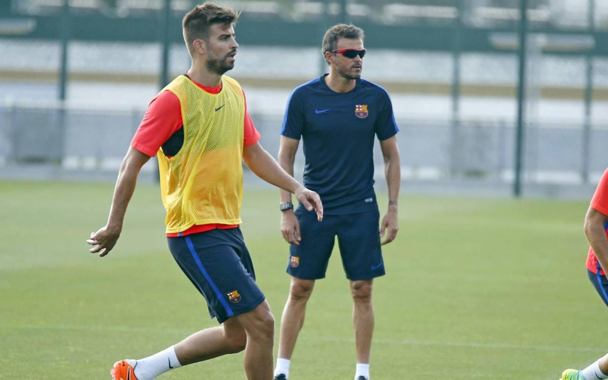 Gerard Piqué says Luis Enrique deserves a great final send off