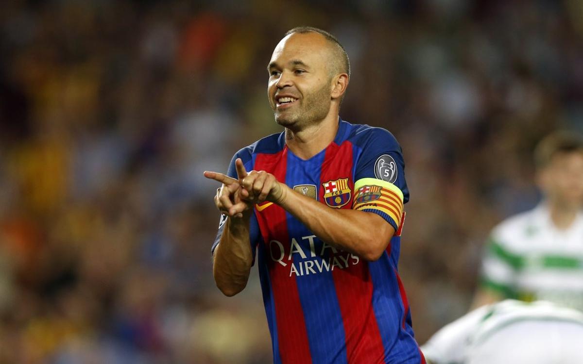 Happy birthday, Andrés Iniesta!