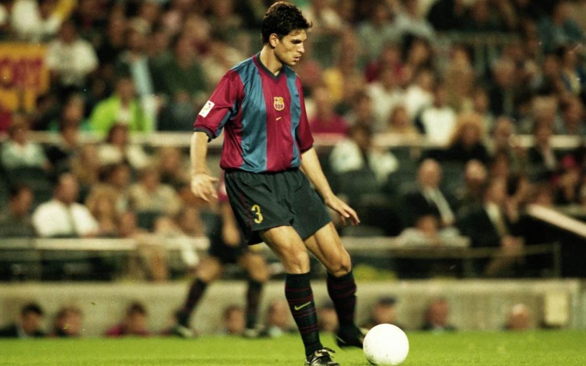 Once upon a time, Mauricio Pellegrino played for Barça